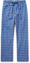 Derek Rose Ranga Checked Brushed-Cotton Pyjama Trousers