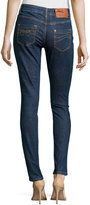 RED Valentino Medium-Wash Skinny Ankle Jeans, Notte