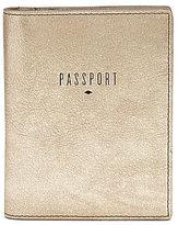 Fossil RFID Metallic Passport Case