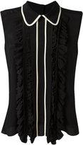Marni ruffled blouse - women - Silk/Acetate - 40