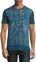 Versace Men's Argento Crewneck T-Shirt