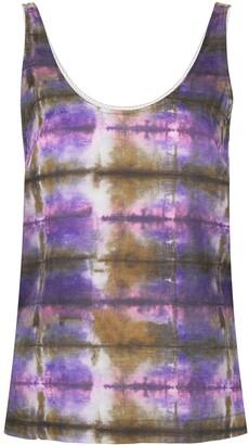 Raquel Allegra Abstract Print Tank Top