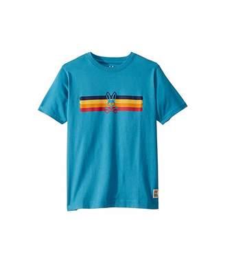 Psycho Bunny Kids Graphic Tee (Toddler/Little Kids/Big Kids) (Navagio) Boy's T Shirt