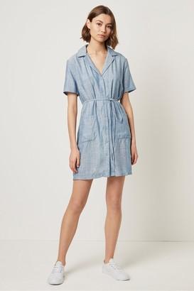 French Connection Laiche Stripe Shirt Dress