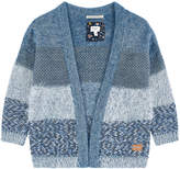 Pepe Jeans V-necked wool blend cardigan