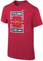 Nike Iowa State Cyclones Just Do It Football T-Shirt, Big Boys (8-20)