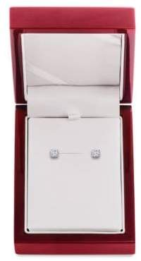 Lord & Taylor Diamond and 14K White Gold Stud Earrings, 0.75 TCW