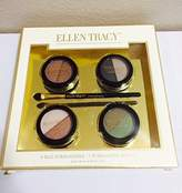 Ellen Tracy 4 Duo Eyeshadows + 1 Eyeshadow brush by