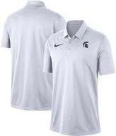 Nike Men's White Michigan State Spartans Franchise Performance Polo