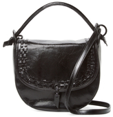 Foley + Corinna Violetta Small Leather Saddle Crossbody