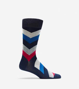 Cole Haan Chevron Crew Socks