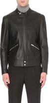 Burberry Nappa leather biker jacket