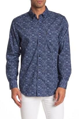 Ben Sherman Medallion Print Classic Fit Shirt