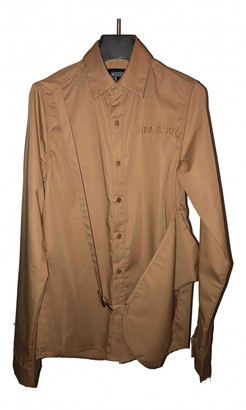 Hood by Air Gold Polyester Shirts