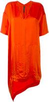 Ilaria Nistri elongated back T-shirt dress