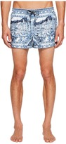 Dolce & Gabbana Portofino Canvas Short Boxer Swimsuit Men's Swimwear