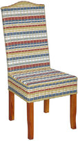 Jeffan Decorative Multi-Colored Contemporary Funstripes Amelio Accent Chair