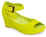 Johnston & Murphy Women's 'Tricia' Ankle Strap Sandal