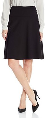 Only Hearts Women's Double Knit 23 Inch Flare Skirt