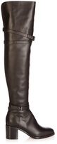 Christian Louboutin Karialta 70mm over-the-knee leather boots