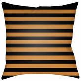 Surya Harvest Stripes Throw Pillow Cover
