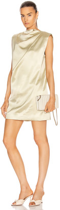 GAUGE81 Cali Mini Dress in Gold Sand | FWRD