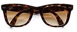 Ray-Ban Women's RB4105 Folding Wayfarer Sunglasses