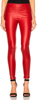 Saint Laurent Shiny Stretch Leather Leggings