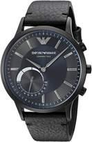 Emporio Armani Connected Hybrid Smartwatch Men's ART3004 Leather