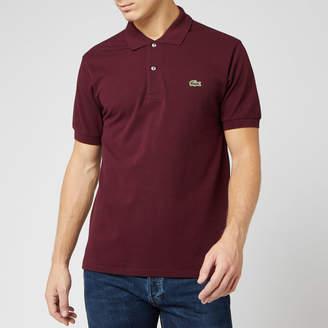 Lacoste Men's Classic Pique Polo Shirt