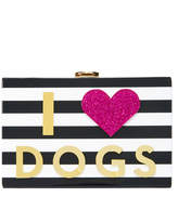 Milly I Heart Dogs & Cats Clutch