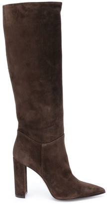 Le Silla Pointed Knee High Boots
