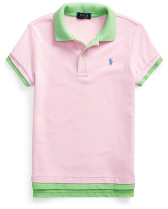 Ralph Lauren Layered Stretch Mesh Polo