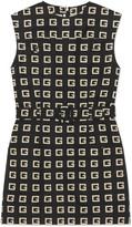 Gucci Square G print faille short dress