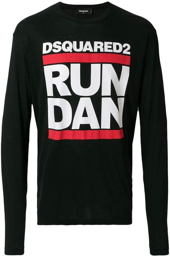 DSQUARED2 Run Dan print T-shirt