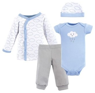 Luvable Friends Baby Shower Layette 4pc Gift Set (Baby Boys)