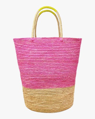 Sensi Tall Triple-Tone Beach Tote