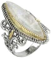 Konstantino Sterling Silver & 18K Gold Labradorite Ring - Size 7