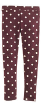 J.Crew Girls' everyday leggings in polka dot