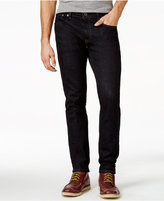 Tommy Hilfiger Men's Slim-Fit Black Rinse Jeans