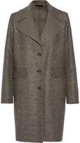 The Row Sonja wool and silk-blend tweed coat