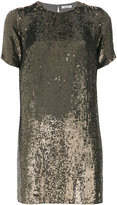 P.A.R.O.S.H. sequin T-shirt dress