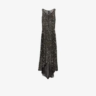 Ashish mirror sequin sheer gown