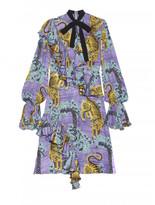 Gucci Bengal georgette dress