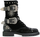 Fausto Puglisi buckled boots