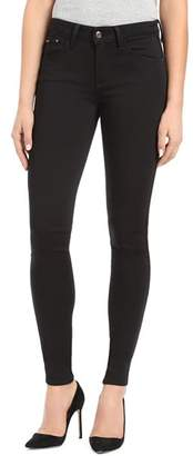Mavi Jeans Adriana Side-Stripe Ankle Skinny Jeans in Black
