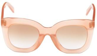 Celine 55MM Square Sunglasses