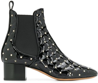 Valentino Rockstud Spike 40mm ankle boots