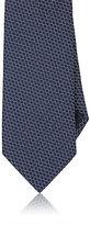 Ermenegildo Zegna Men's Hexagon Jacquard Silk Necktie