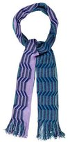 Missoni Metallic Chevron Scarf w/ Tags